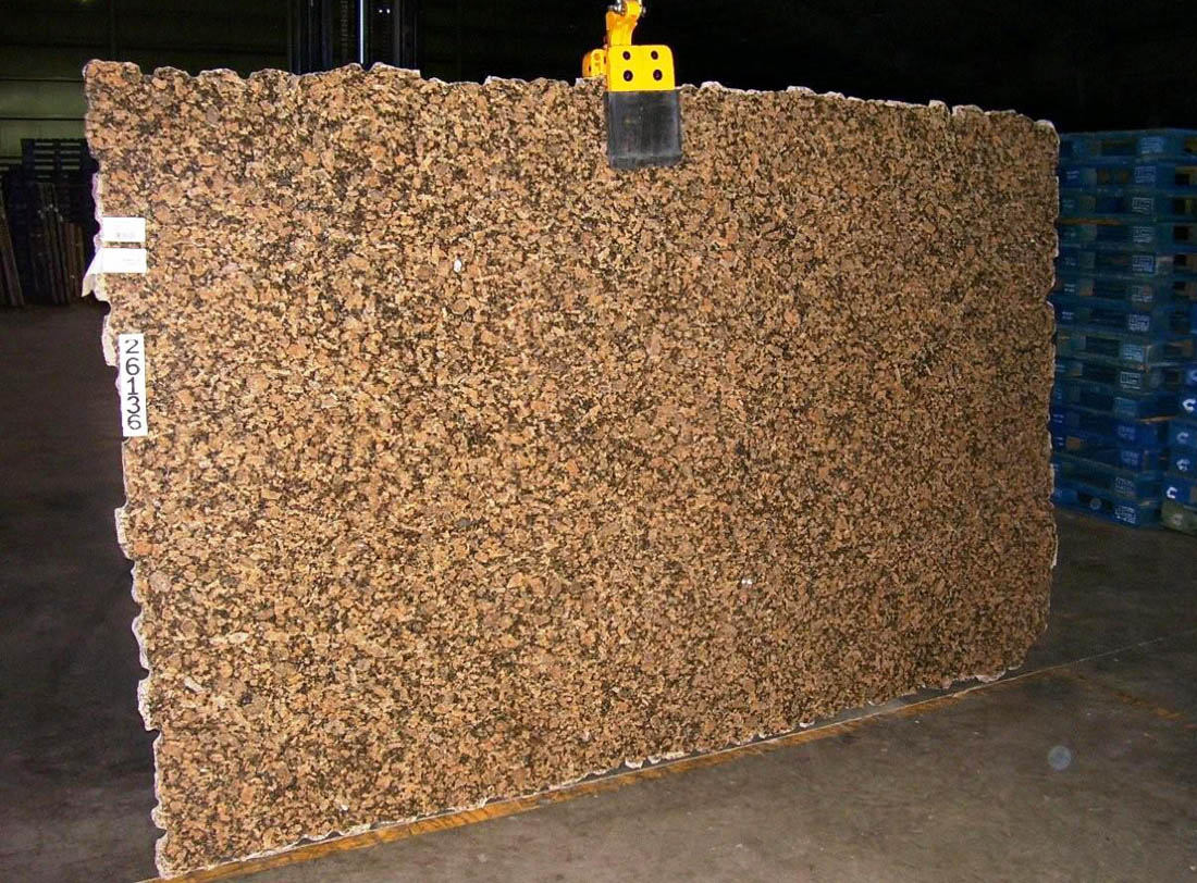 Giallo Vicenza Granite Slabs Brazil Brown Granite Stone Slabs
