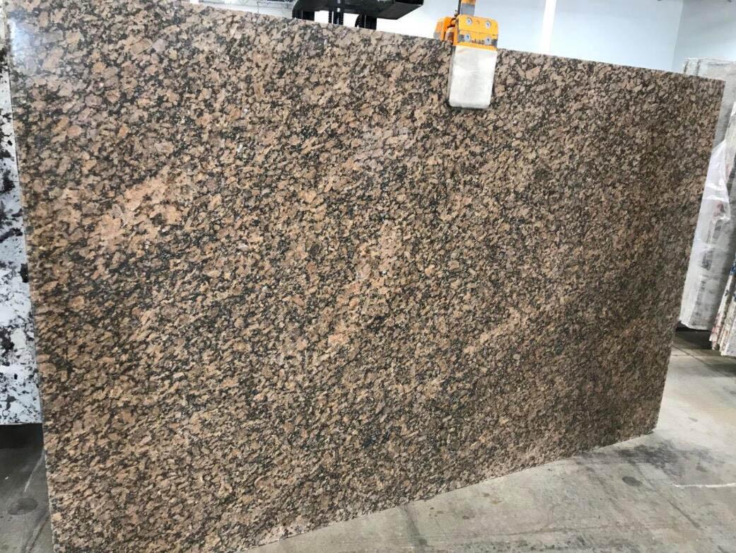 Giallo Vicenza Granite Slabs Brown Polished Granite Stone Slabs
