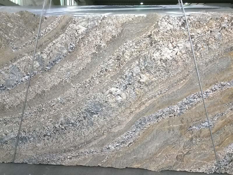 Gold Araras Granite Ash Slabs From