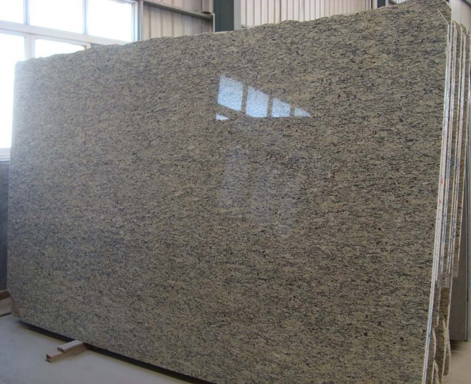 Gold Classic Giallo Santa Cecilia Yellow Granite Slabs