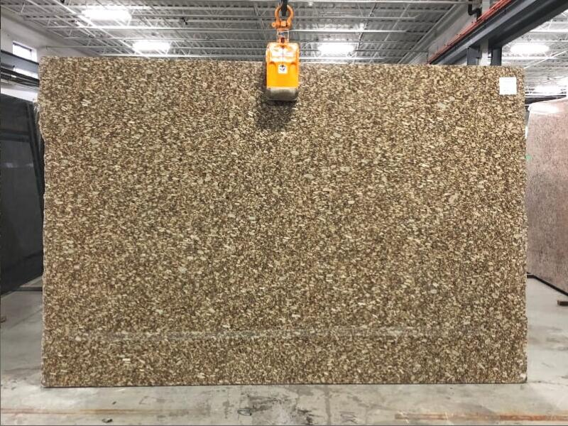 Gold Fiorito 3cm Granite Polished Slabs for Countertops