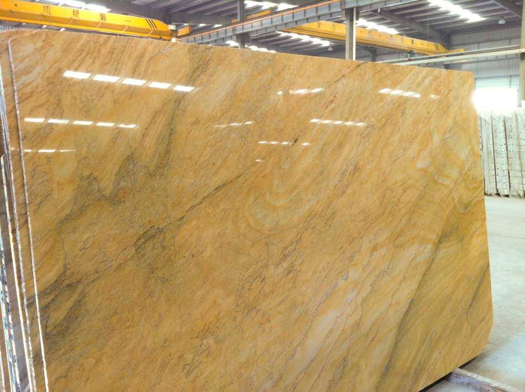 Gold Macaubas Quartzite Slabs Yellow Quartzite Slabs