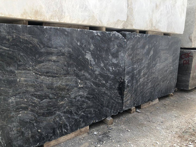 Gold River Marble Blocks Natural Marble Stone Blocks