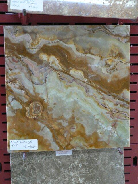 Gold Onyx Tile