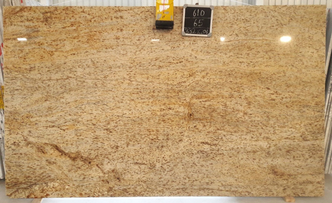 Golden Beach Granite Slabs Polished Yellow Granite Slabs