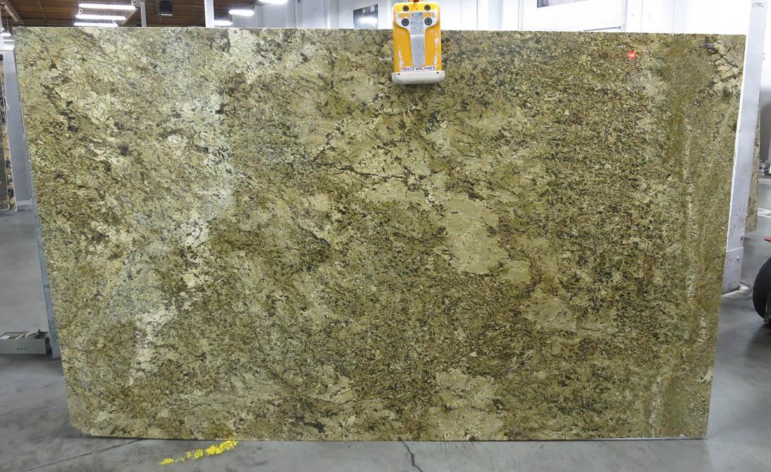 Golden Beach Slabs Polished Brazil Yellow Granite Slabs