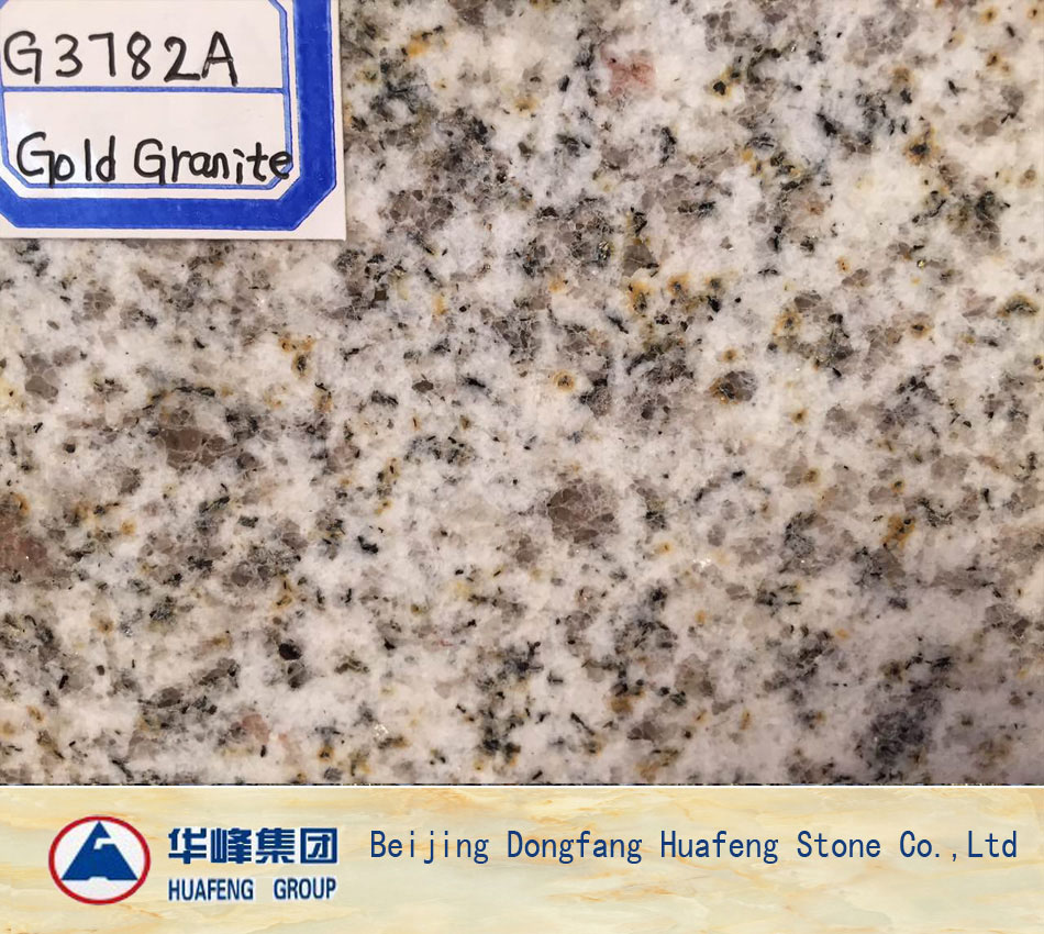 Golden Granite Wall Stone Tiles for Sales