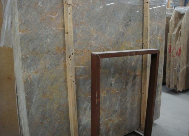 Golden Grey Marble Polished Marble Slabs