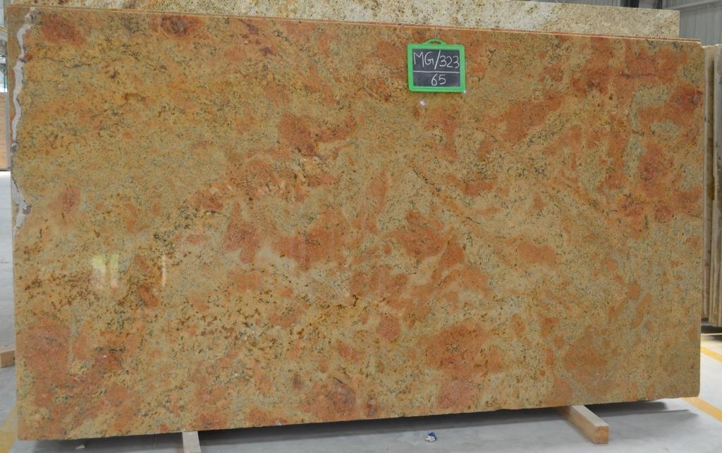 Golden Harmony Granite Yellow Polished Granite Slabs