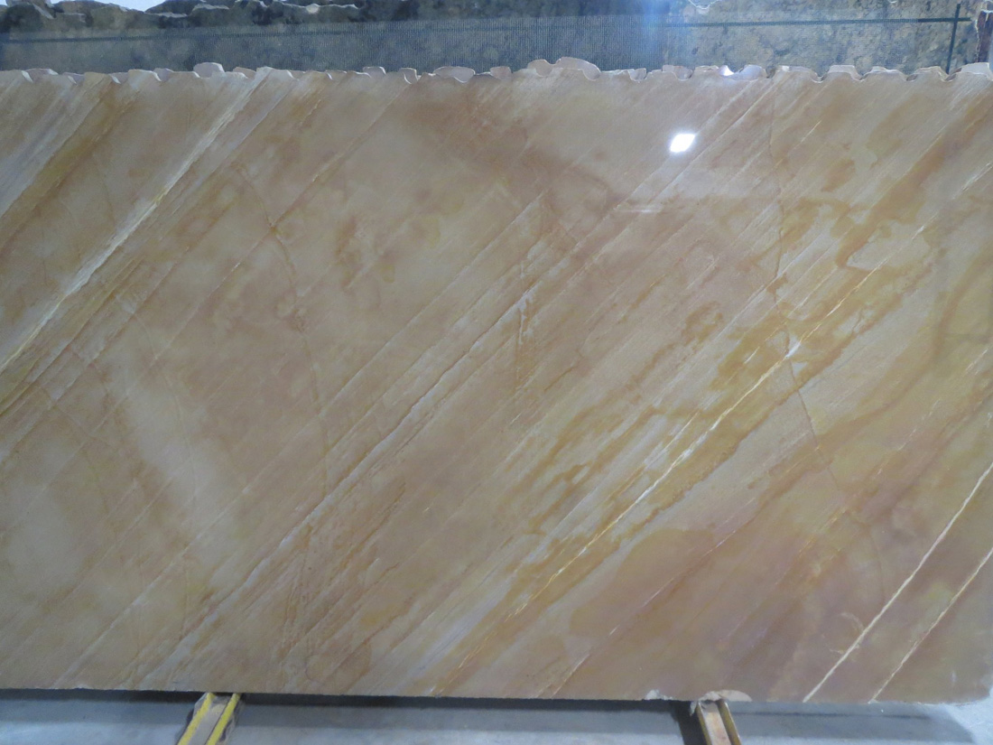 Golden Macaubas Quartzite Polished Slab