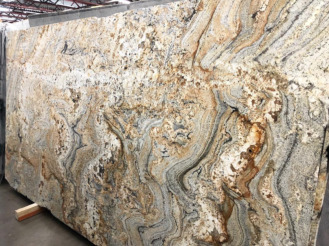 Golden Matisse Granite Slabs from South Africa