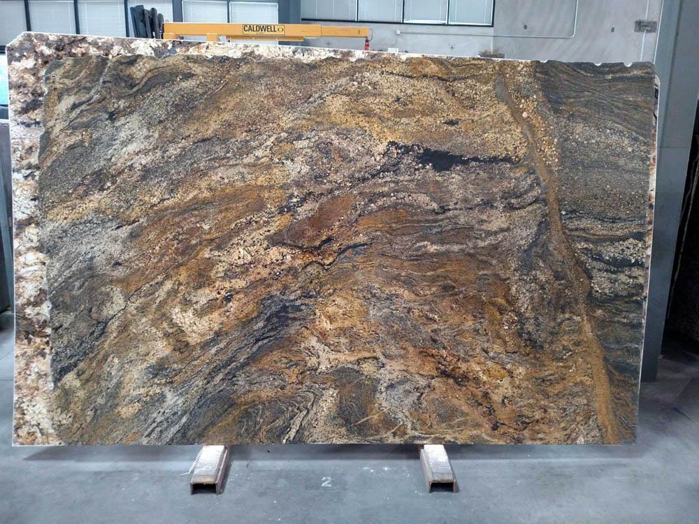 Golden Ray Granite Slabs Polished Stone Granite Slabs