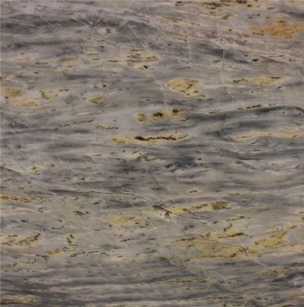 Golden Grey Blue Marble