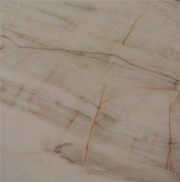 Golden Silk White Marble