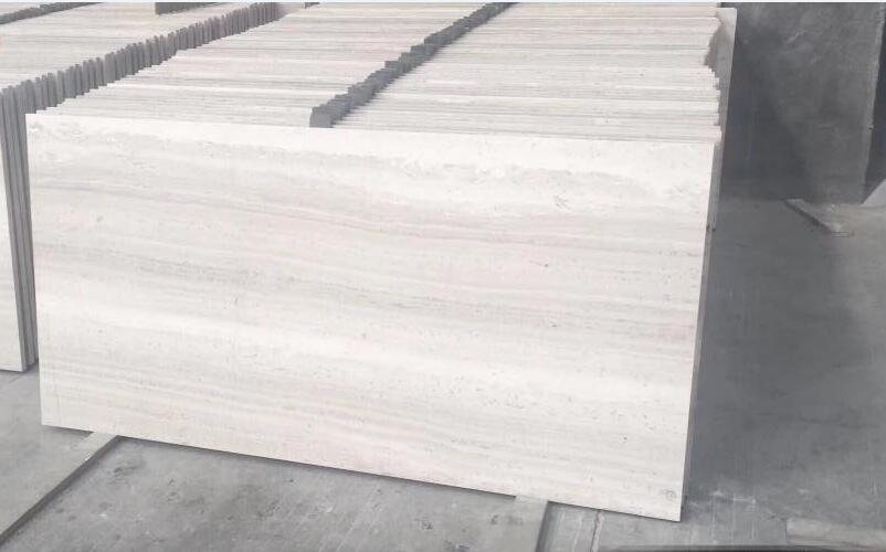 Good Quality Wooden White Marble Tiles