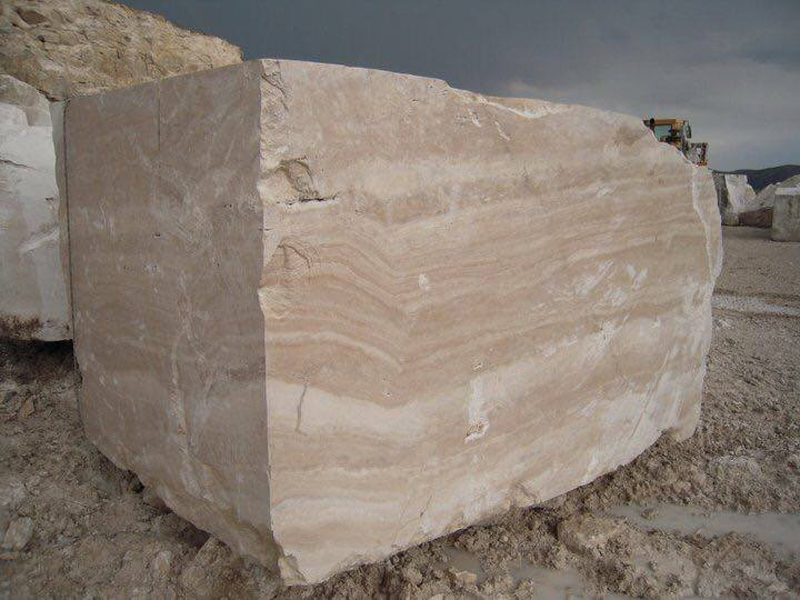 Goya Ivory Albastrino Travertine Blocks