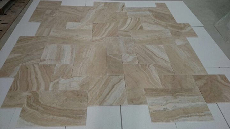 Goya Ivory Albastrino Travertine Tiles