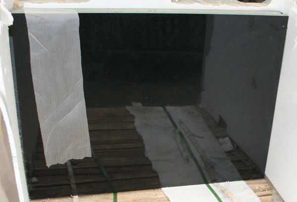 Grade A Shanxi Black Granite Polished Chinese Tiles for Flooring