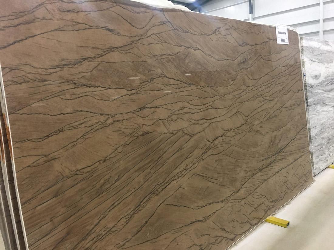 Grand Canyon Quartzite Slabs Polished Brazilian Brown Quartzite Slabs