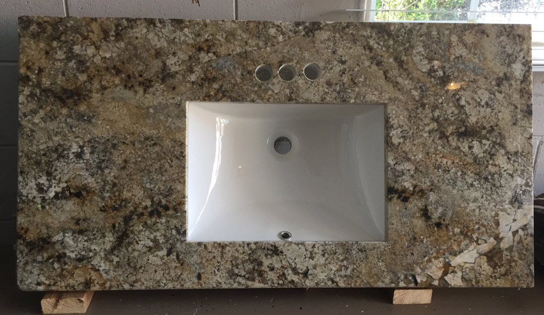 Granite Bathroom Vanity Top with Top Quality