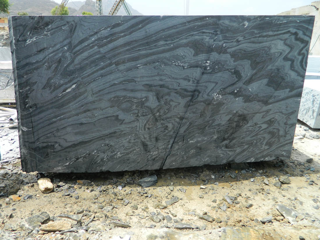 Marble Blocks Black Fantasy Marble Stone Blocks