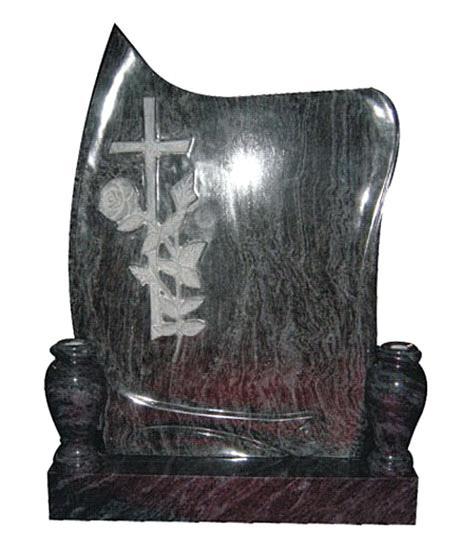 Granite Cross Tombstone Monument