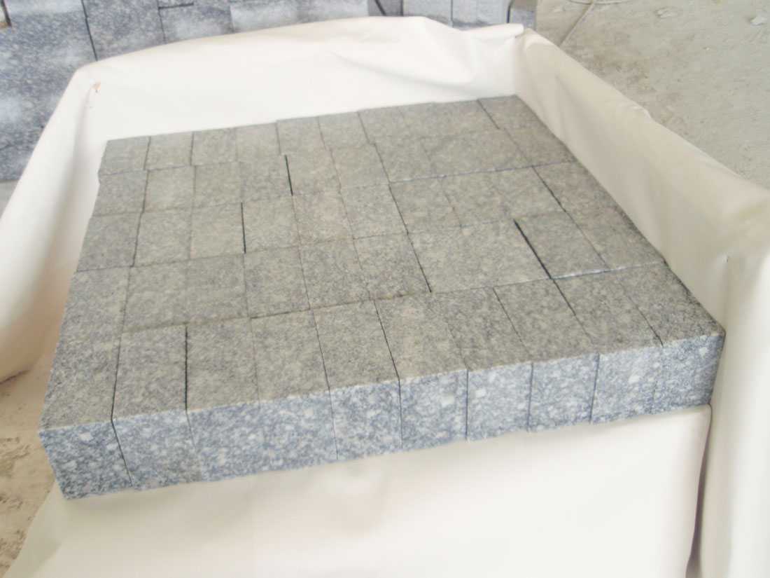 Granite Cubic Stone Grey Cubic Stone for Paving