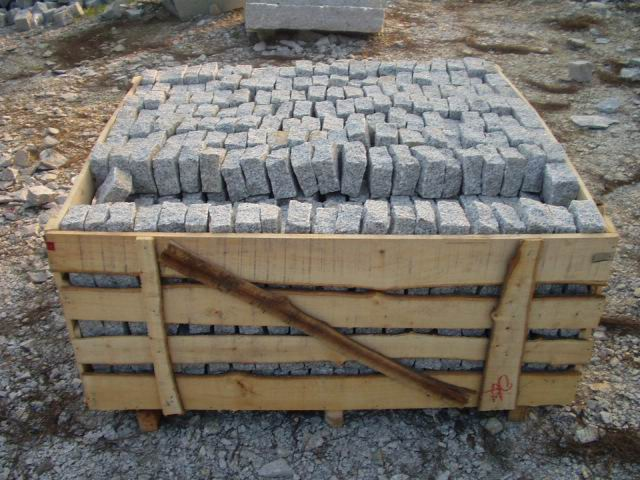 Granite Cubic Stone White Cubic Stone
