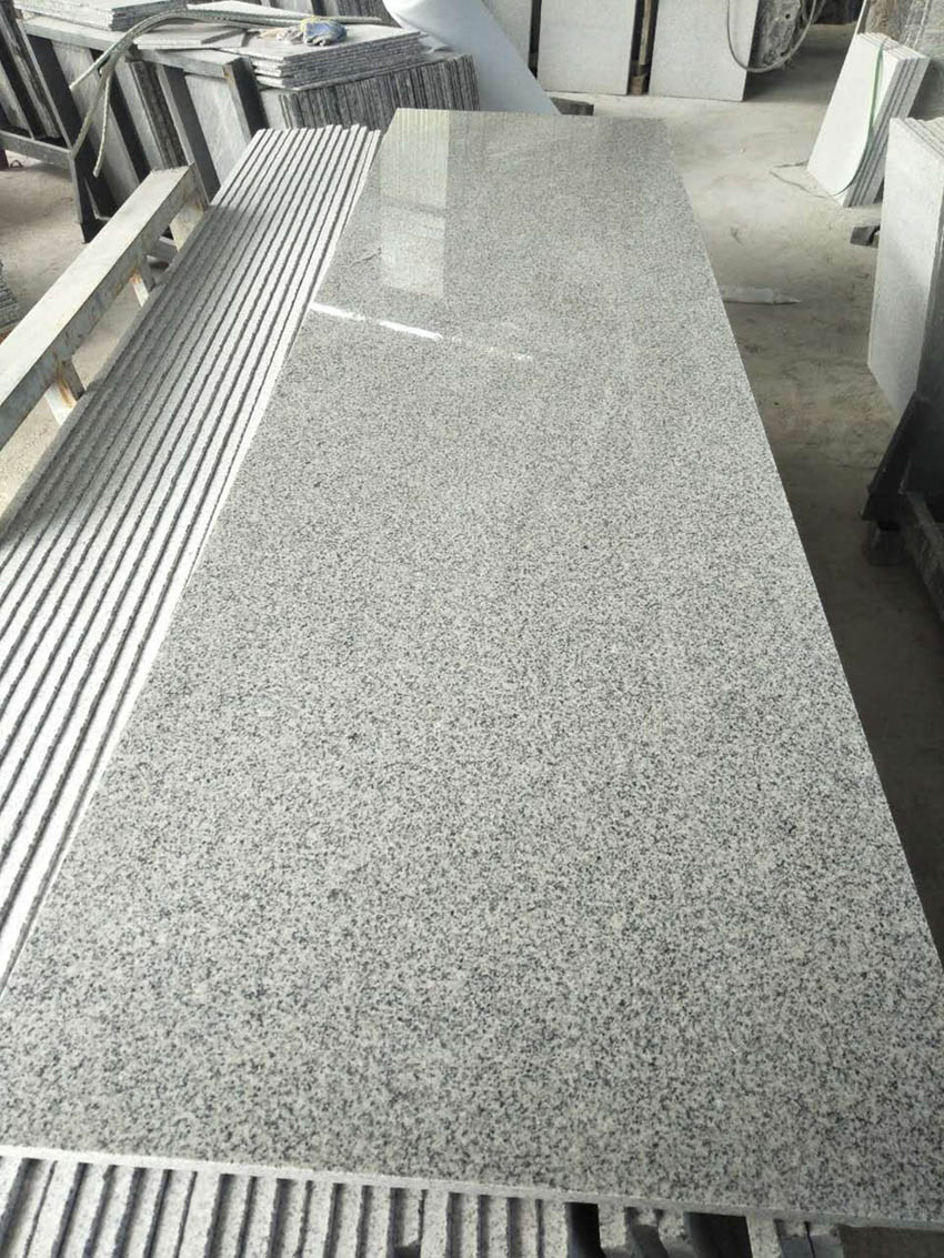 Granite G603 White Granite Polished Chinese Stone Slab