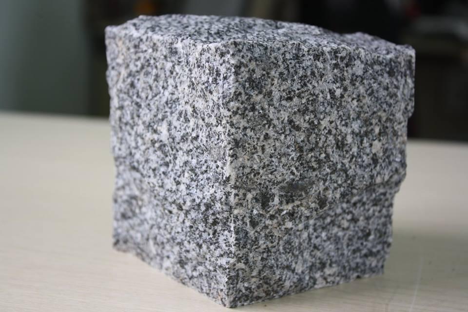 Granite Grey Cubic Stone