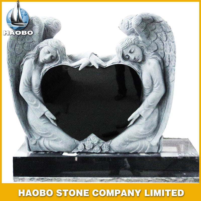Granite Headstone Angel Shape
