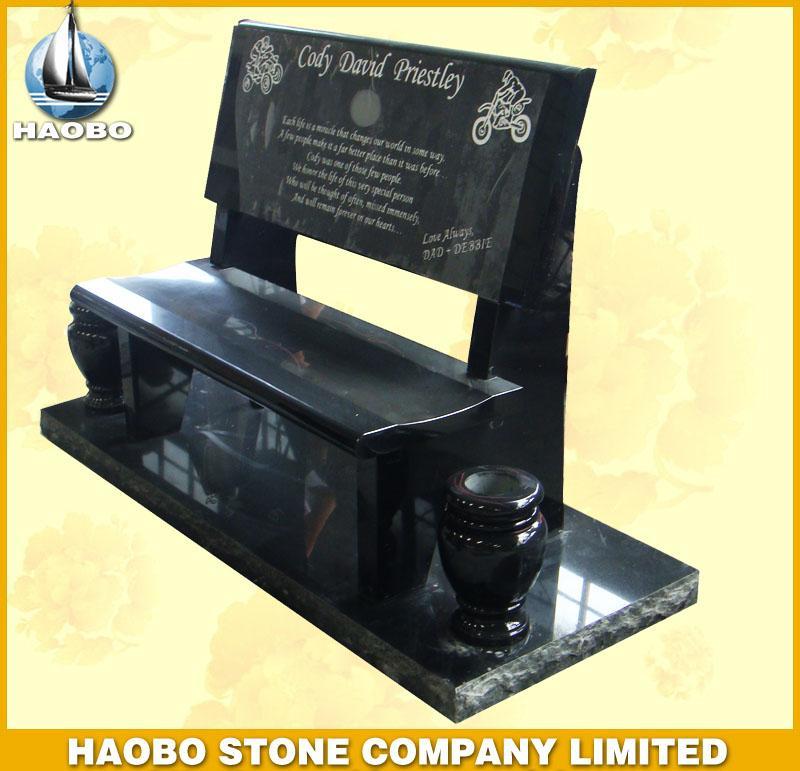 Granite Memorial Bench HBMB002