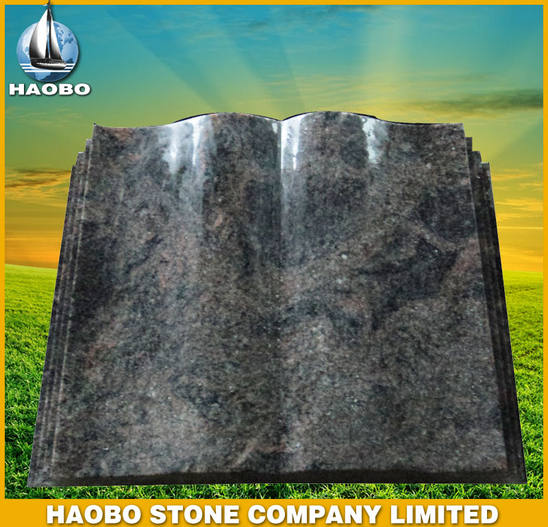 Granite Tombstone-German style HBMDE003