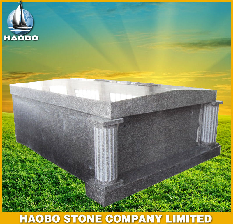Granite Tombstone Mausoleum Style HBMS001