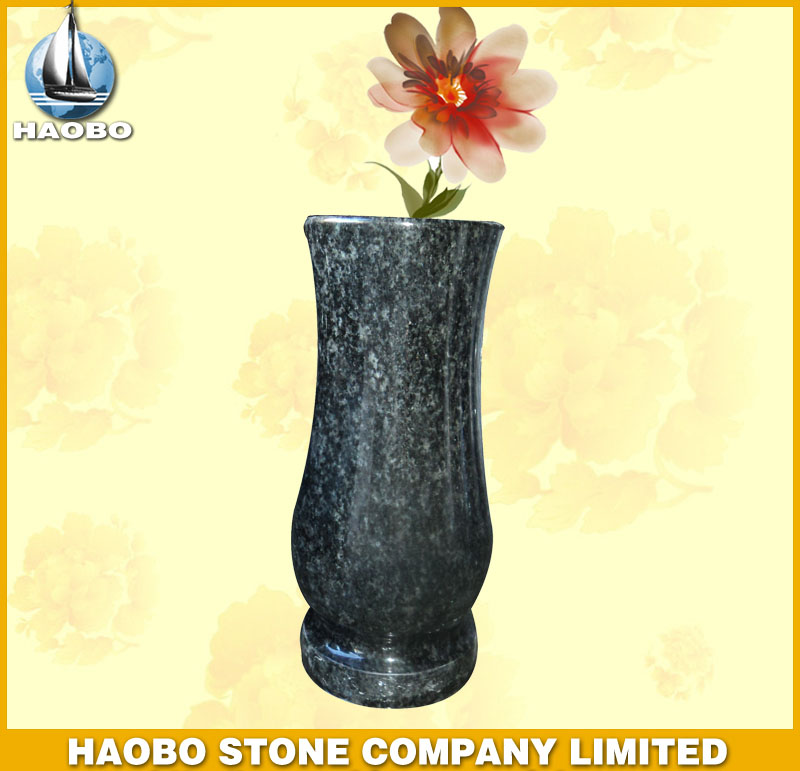 Granite Vase for Tombstone HBV003