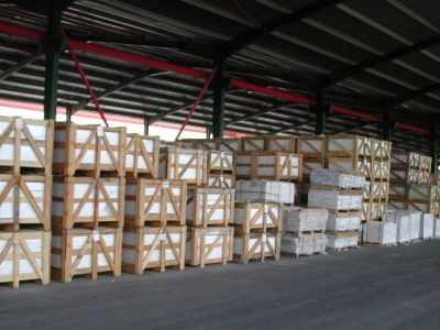 Greece Marble Tiles packing
