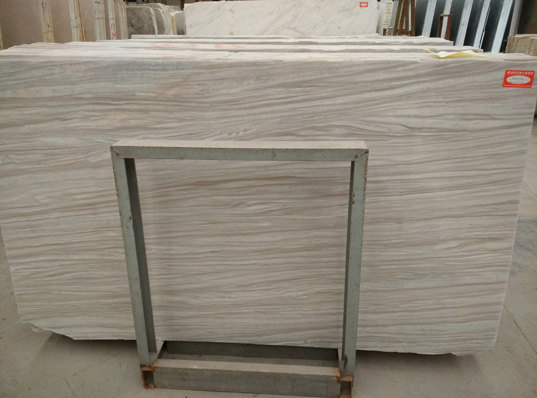 Greece Nesto Beige Siberian White Marble for Project