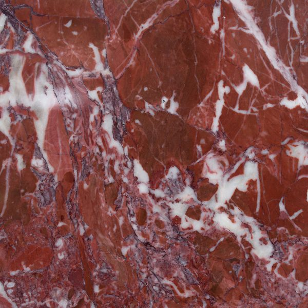Greece eretria red marble color