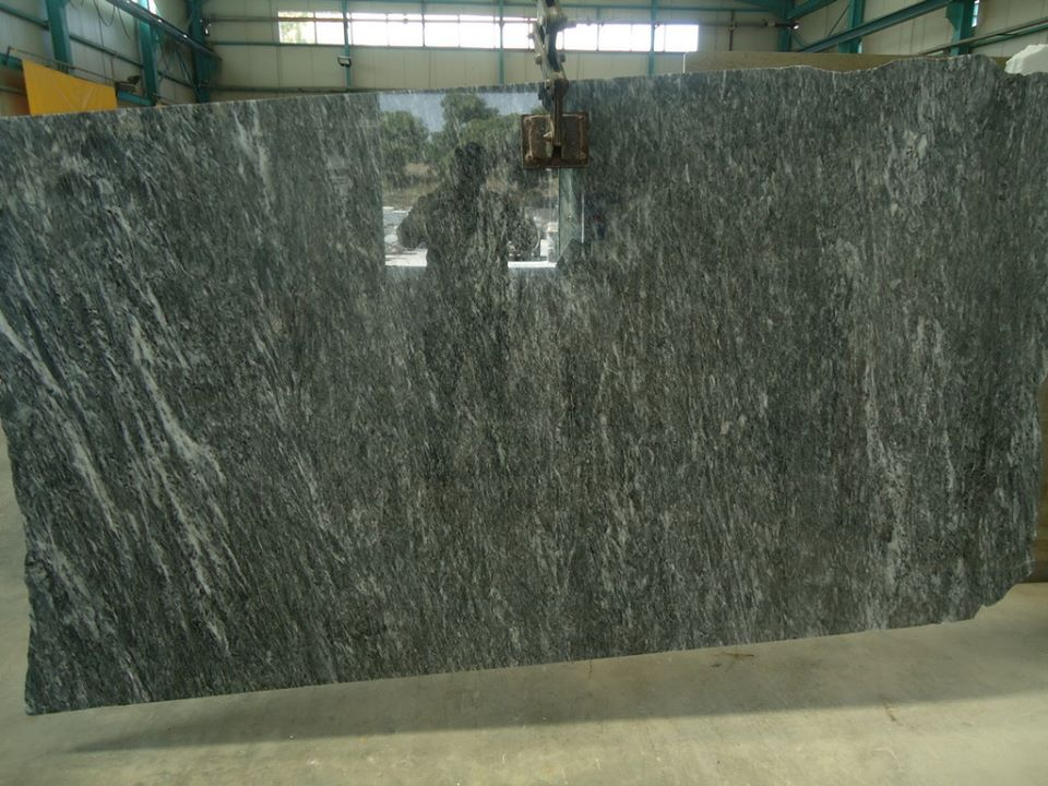 Greek Aliveri Grey Polished Marble Slabs