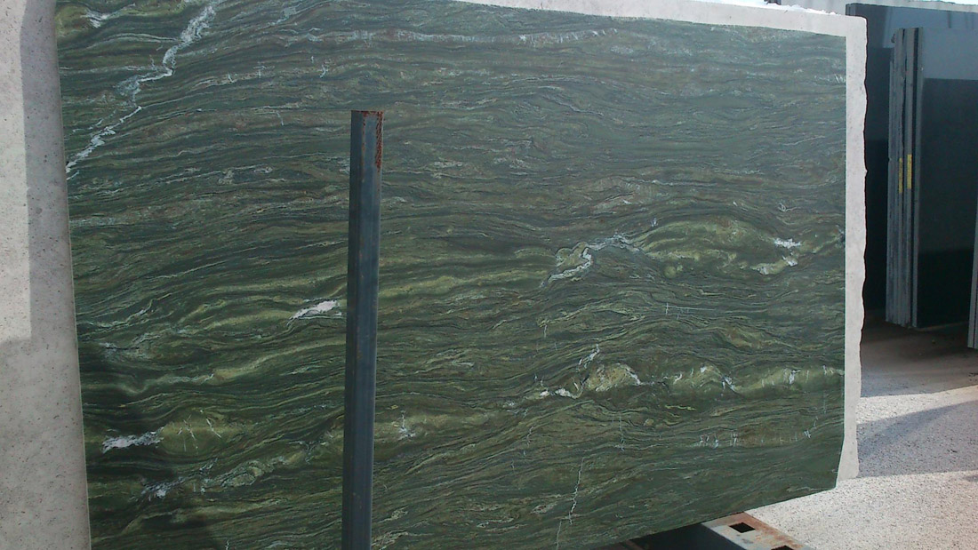 Greek Polished Oasis Green Marble Slabs