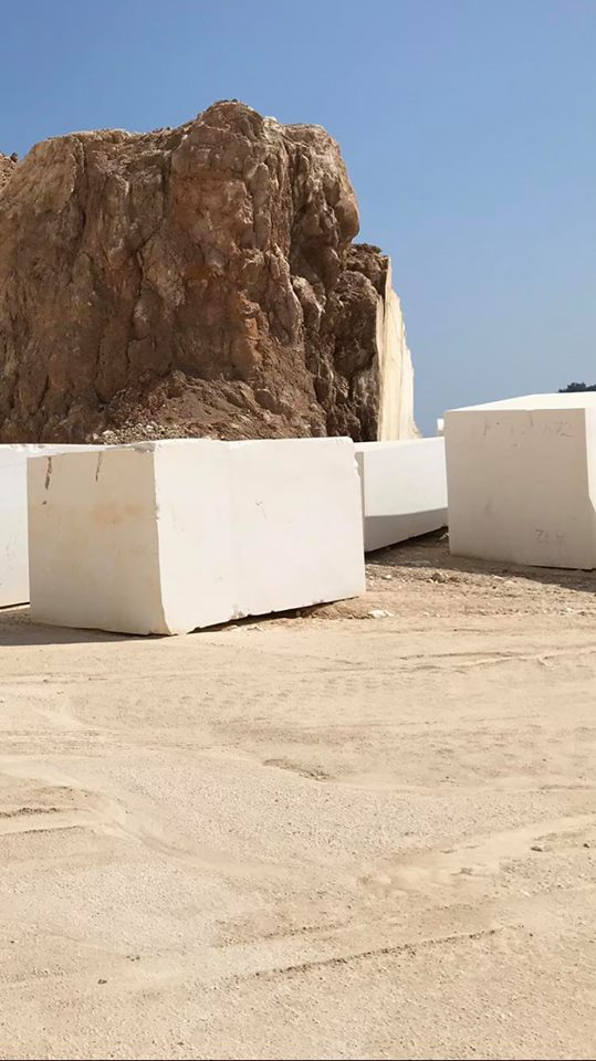 Greek Thassos White Block Natural Marble Blocks