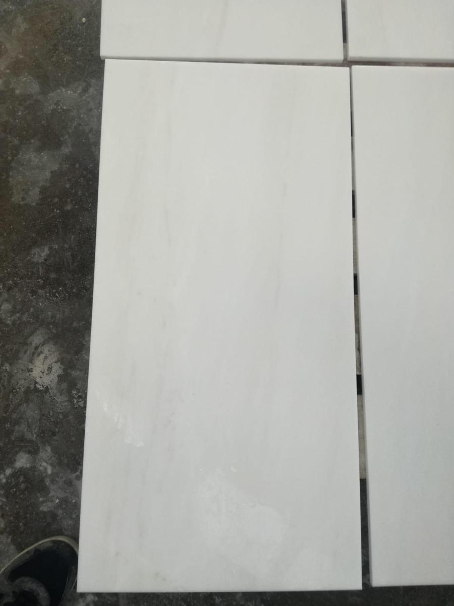 Greek Thassos White Marble Tiles for Flooring