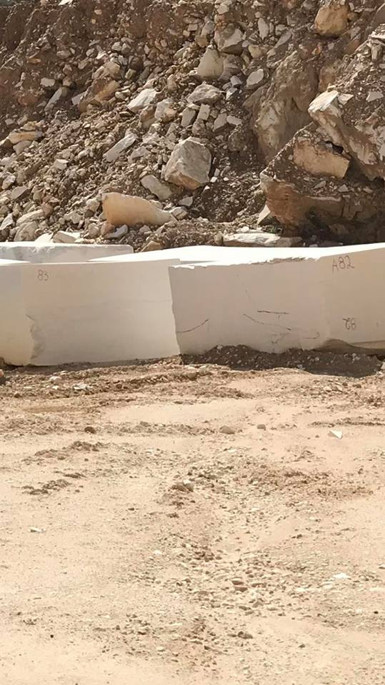 Greek Thassos White Natural Marble Blocks