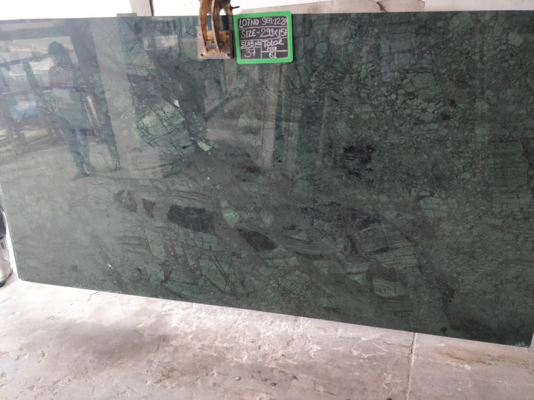 Green Marble Polished Indian Marble Slabs