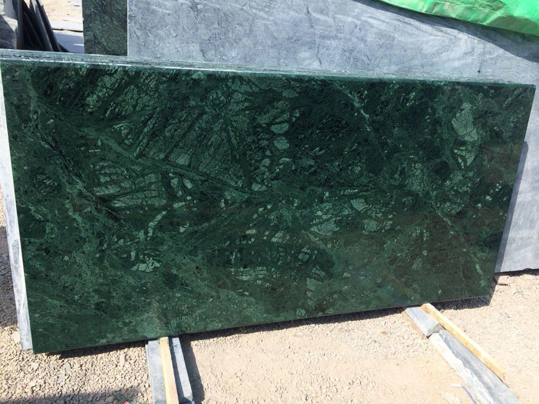 Green Marble Tiles Indian Polished Marble Tiles