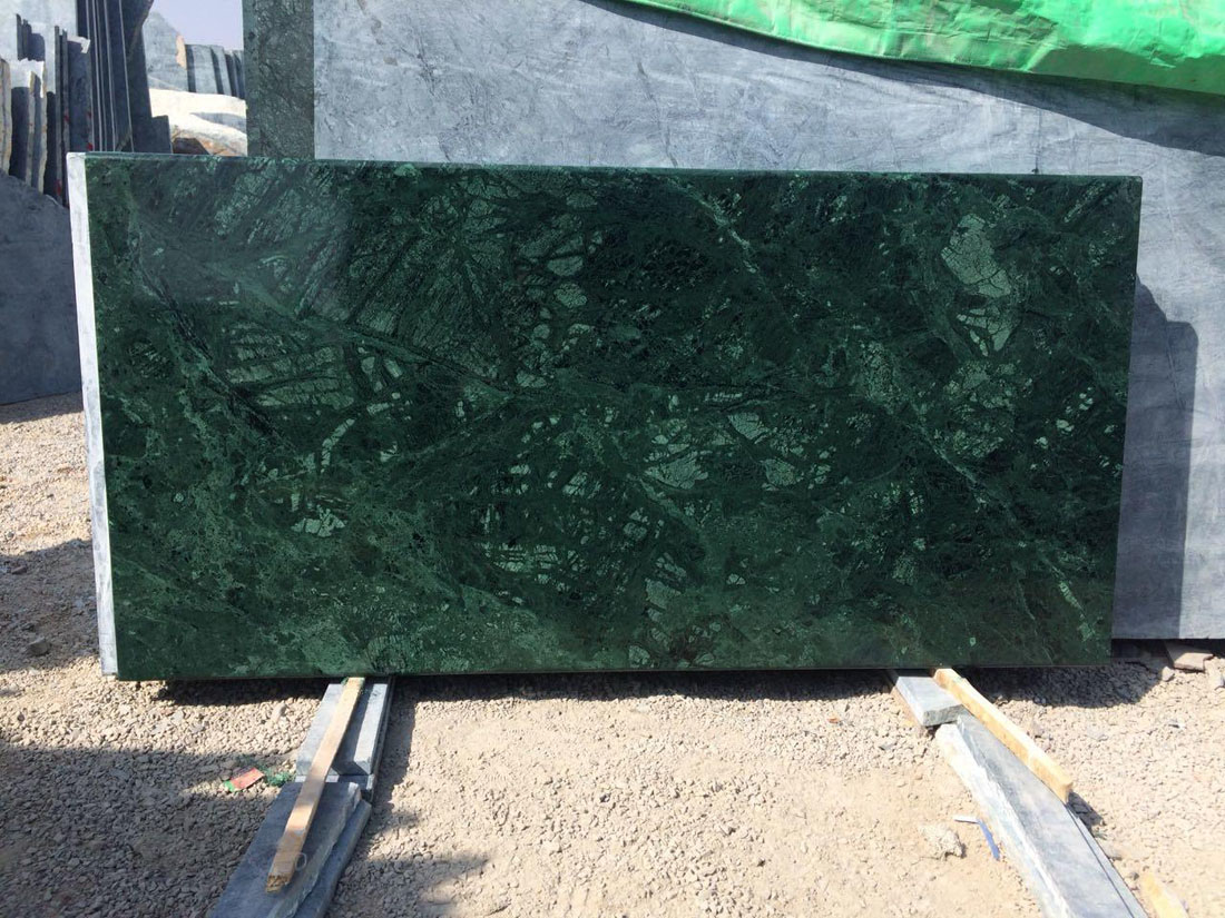 Green Marble Tiles Polished Flooring Marble Tiles
