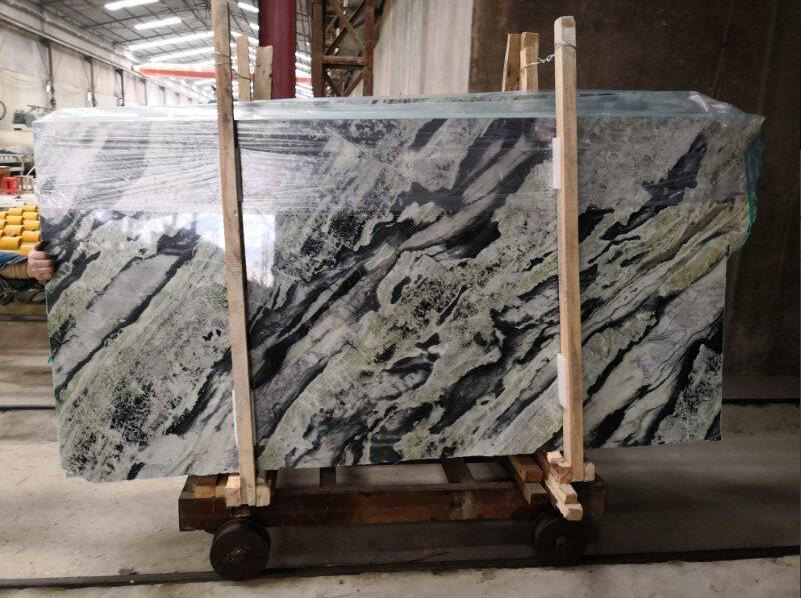 Green Onyx Slabs Polished Natural Stone Slabs from China
