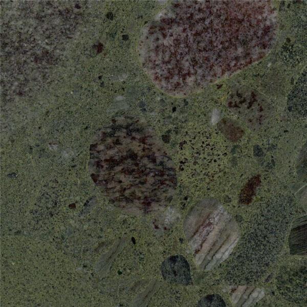 Green Mosaic Granite