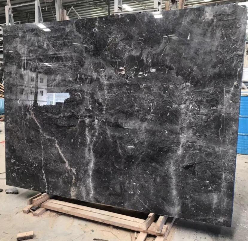Grey Blue Marble Polished Marble Slabs from China Supplier