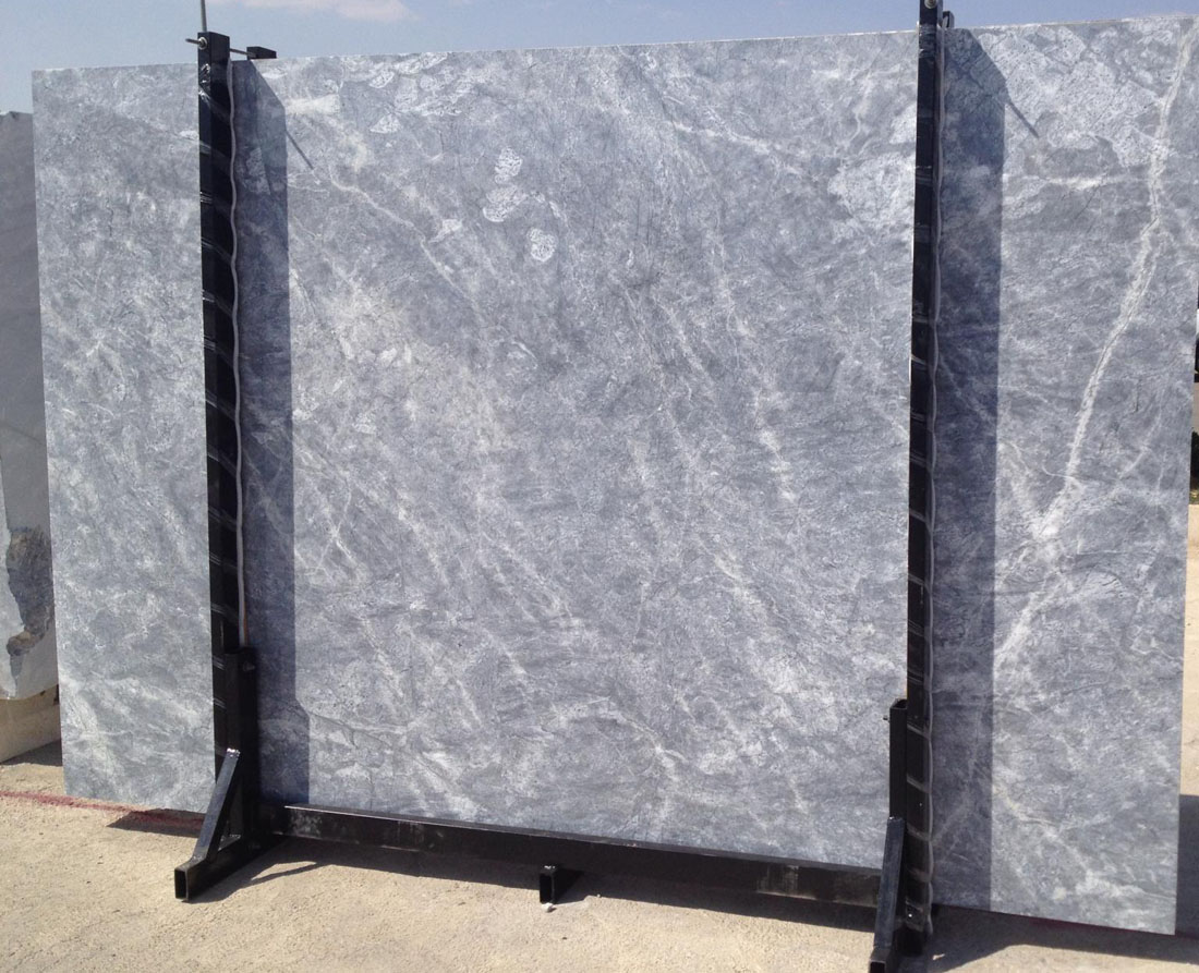 Grey Crystal Iranian Marble Slabs with Competitive Price